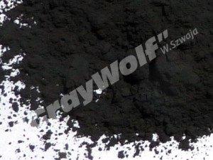 Próbka tlenku miedzi czarnego